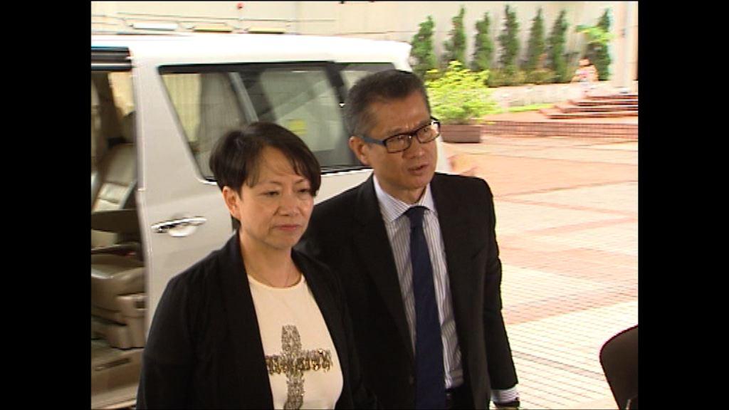 陳茂波夫婦稱會就誹謗案全力抗辯