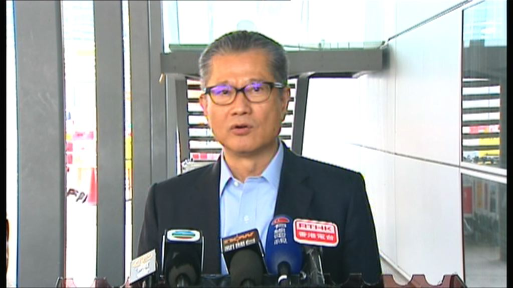陳茂波:中止審議印花稅並非不重視辣招
