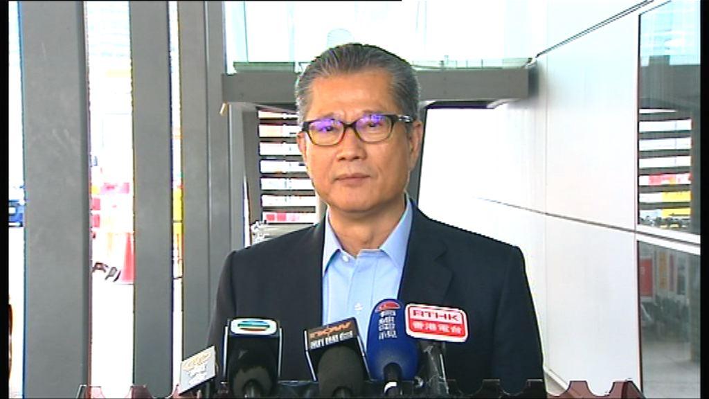 陳茂波:立法會事務有優次之分