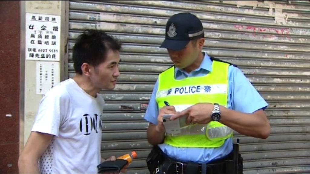 警方加強檢控亂過馬路行人 稱滿意成效