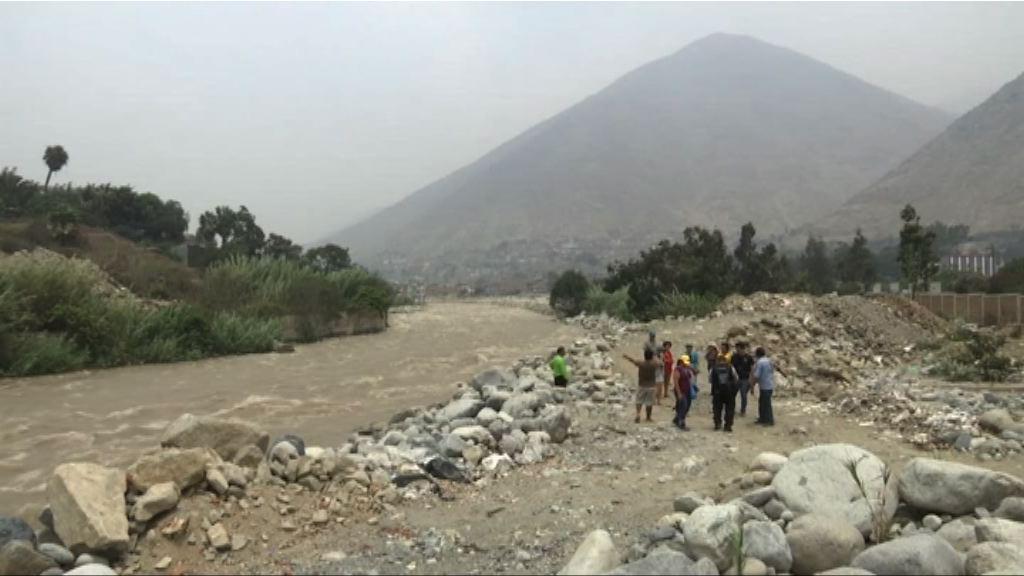 秘魯西部連場大雨引發水浸多間房屋受損
