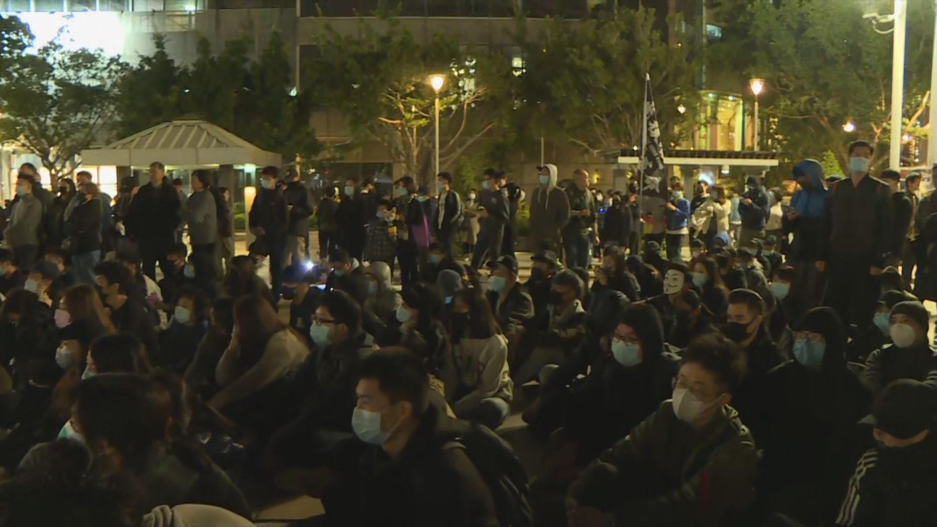 過百人在天水圍集會呼籲市民關注721事件