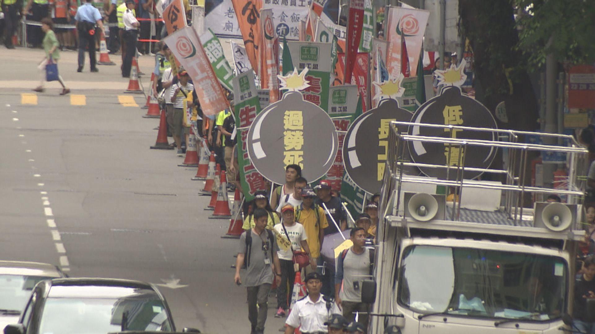 警方禁止及反對五月一日港島區集會和遊行