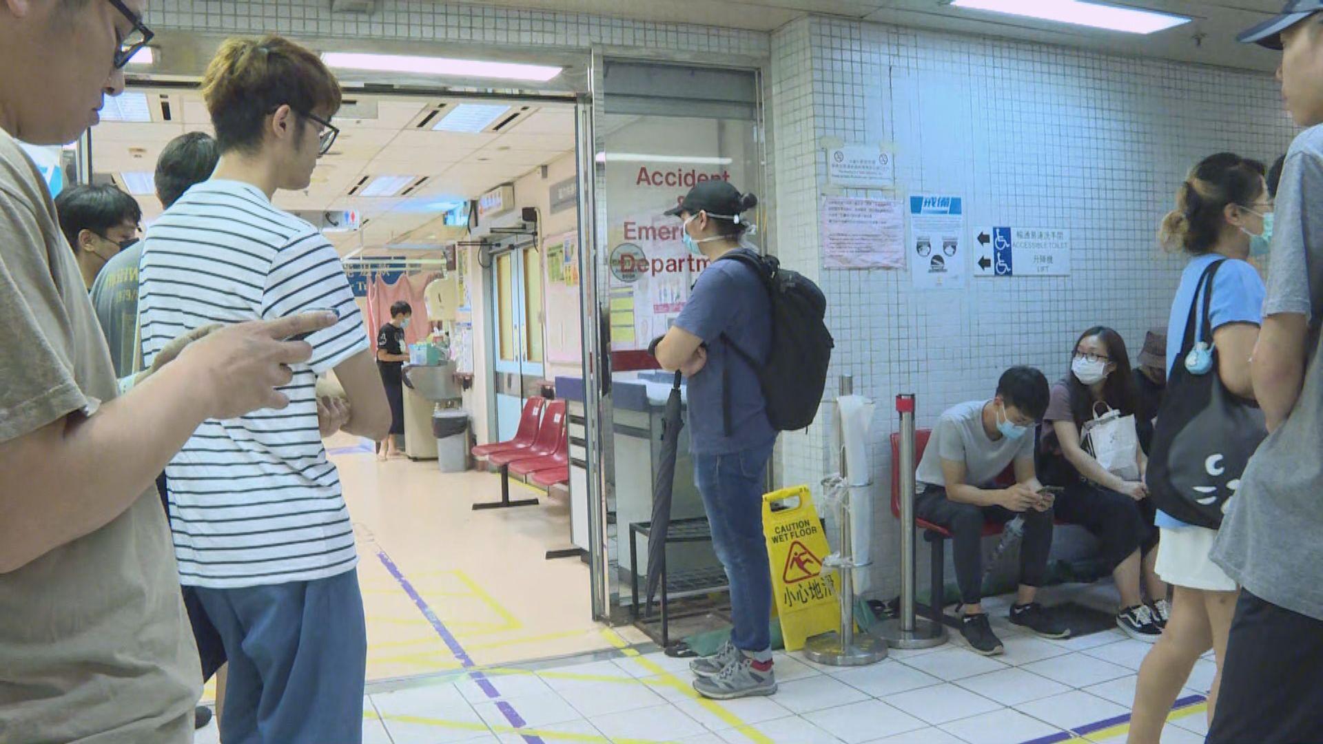 周二太子衝突 醫管局指共三男受傷送院