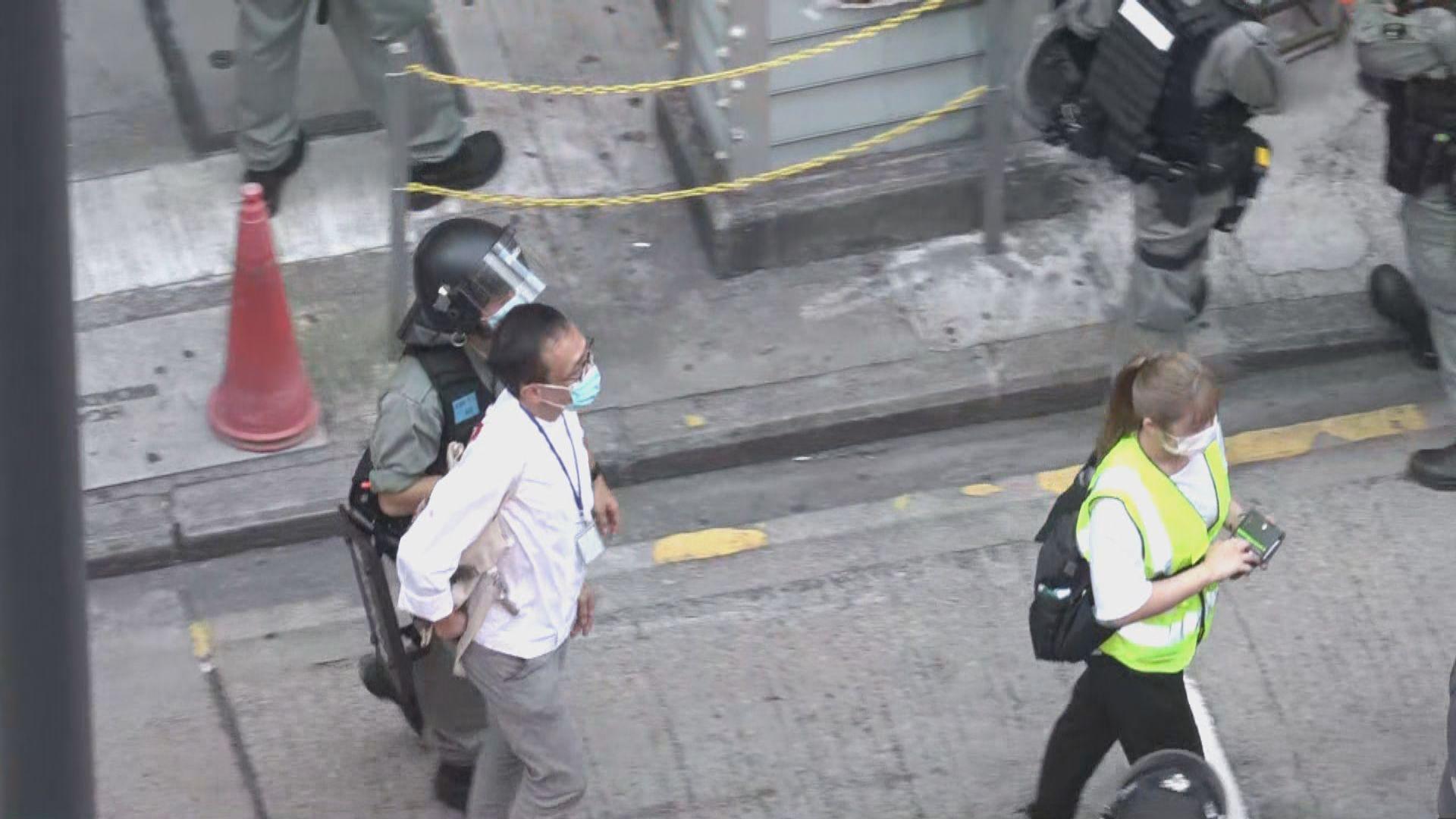 有市民在佐敦遊行反港區國安法 警方拘捕五十三人