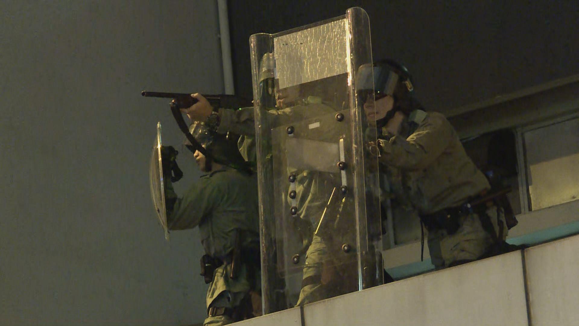 警方太子發射最少七枚疑布袋彈或橡膠子彈