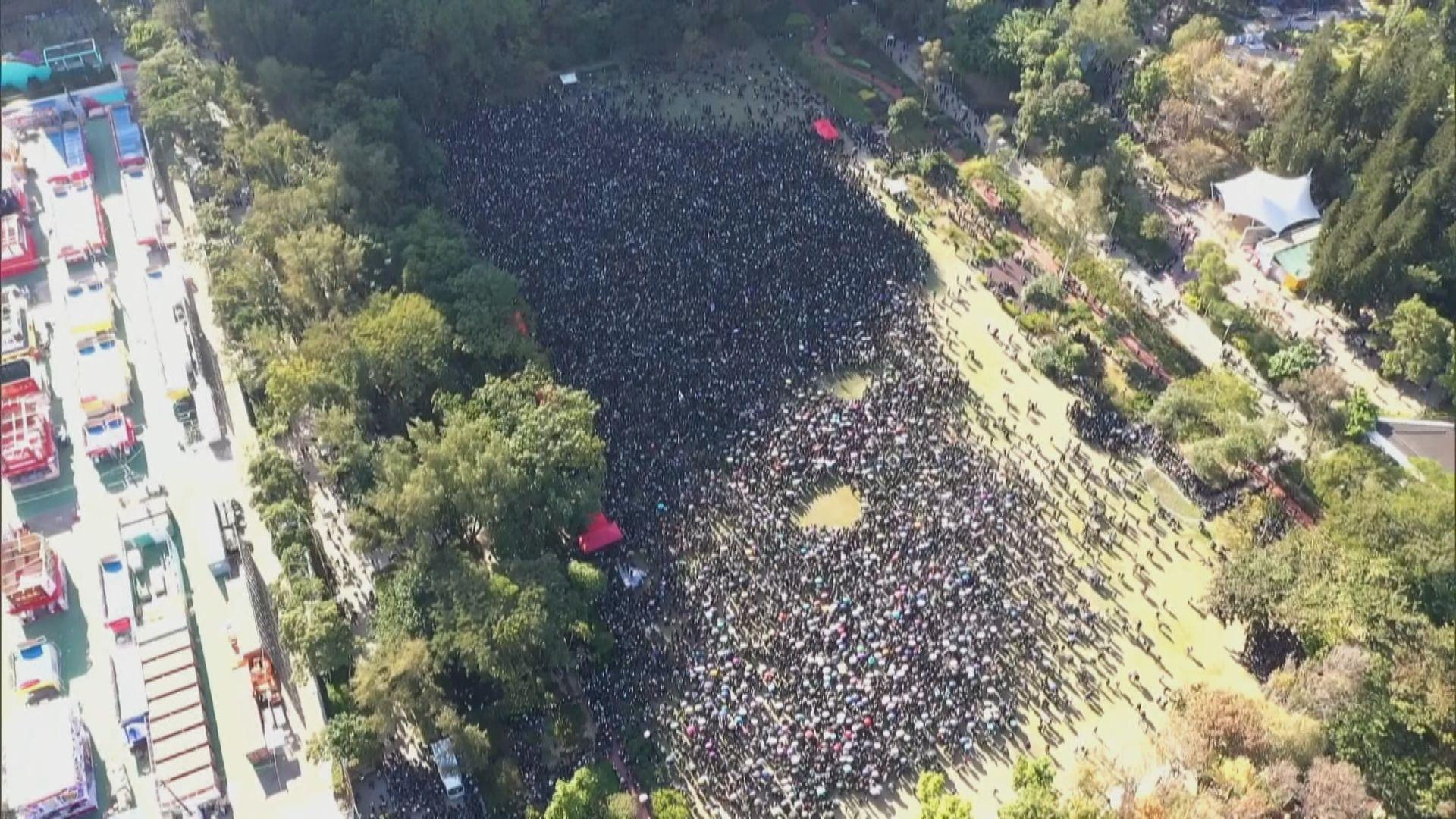 民陣發起國際人權日遊行 下午維園出發