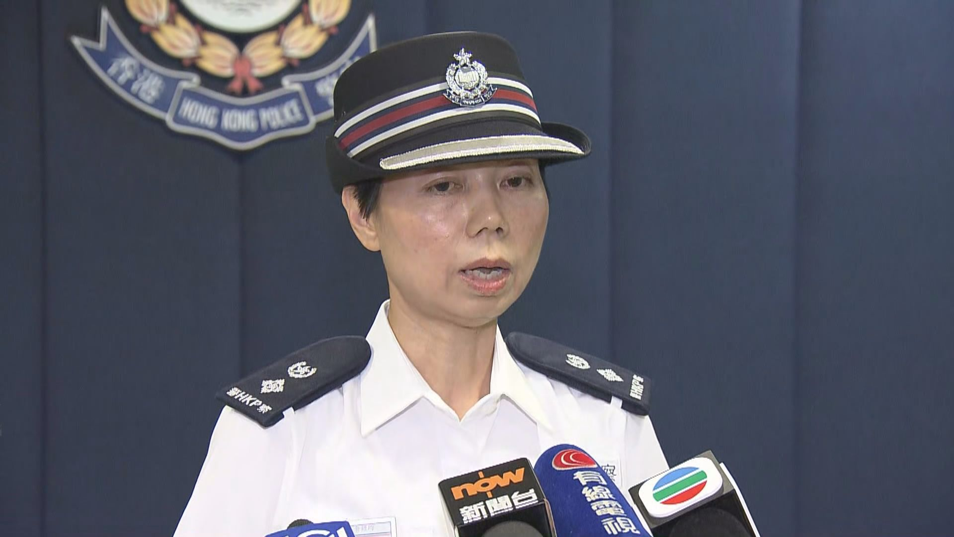 警方:會跟進市民被警棍擊中事件
