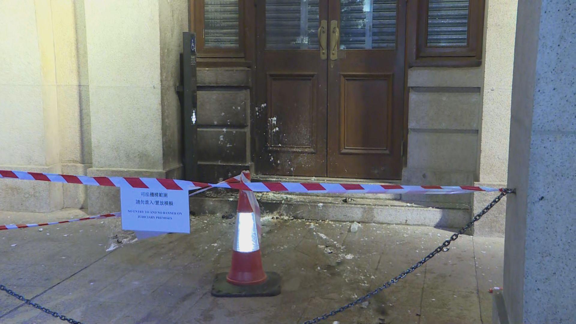 警方對示威者破壞社會安寧行為表示遺憾