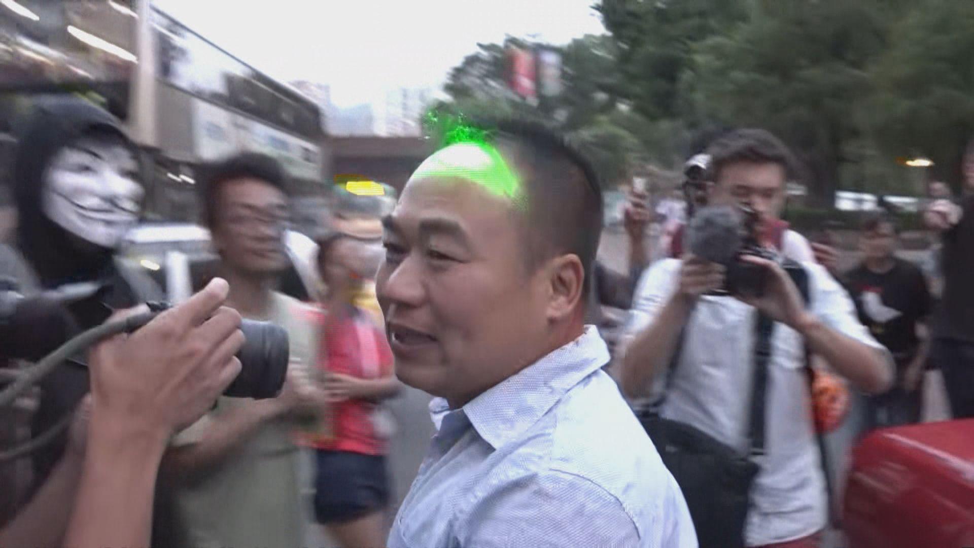 網民號召多區集會 沙田有不同意見人士爭執