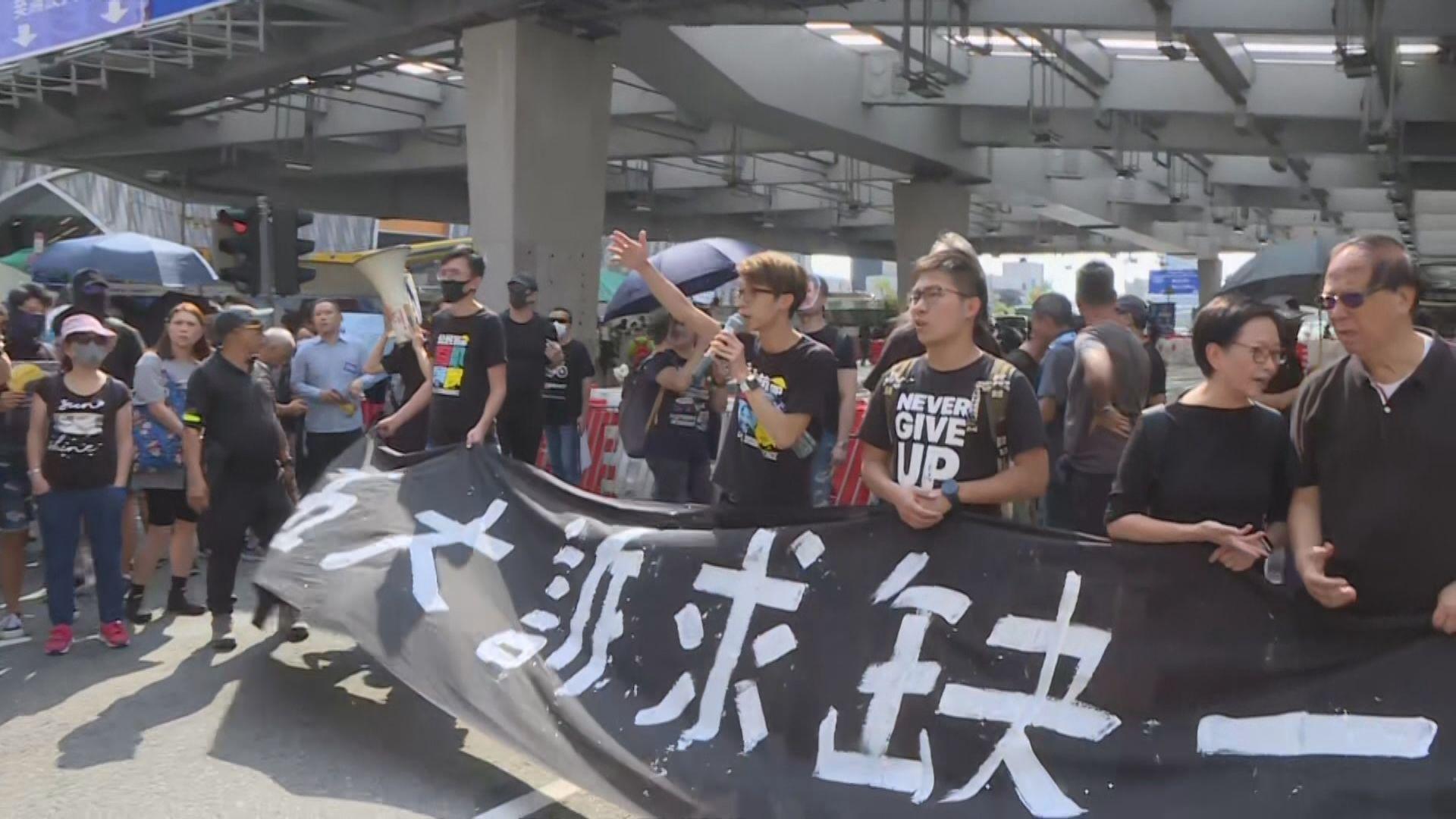 陳皓桓估計至少有35萬人參與九龍遊行