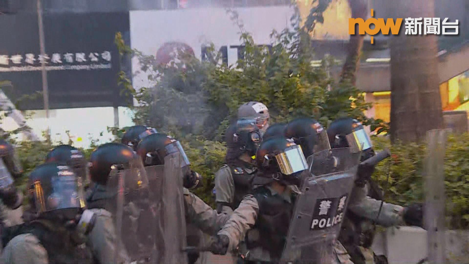 警方譴責多區暴力行為 拘16人涉非法集結等