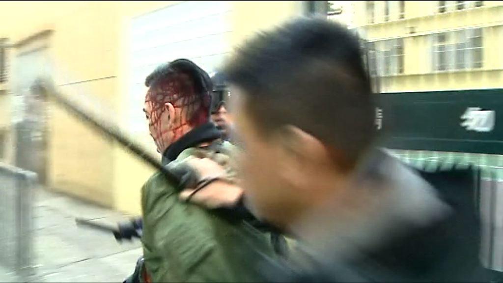 旺角騷亂 最少61人被捕
