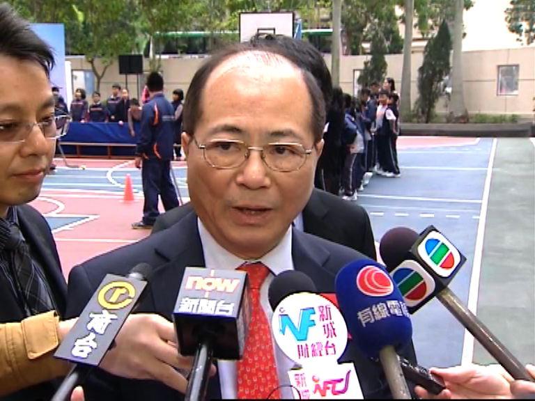 吳克儉對因反水貨被捕學生感失望擔心