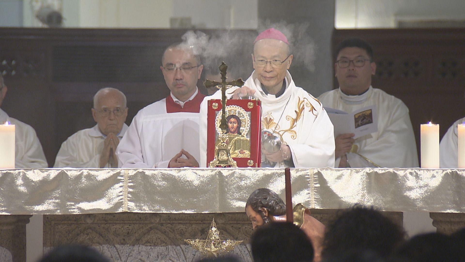 楊鳴章前年接任主教 承認健康有問題