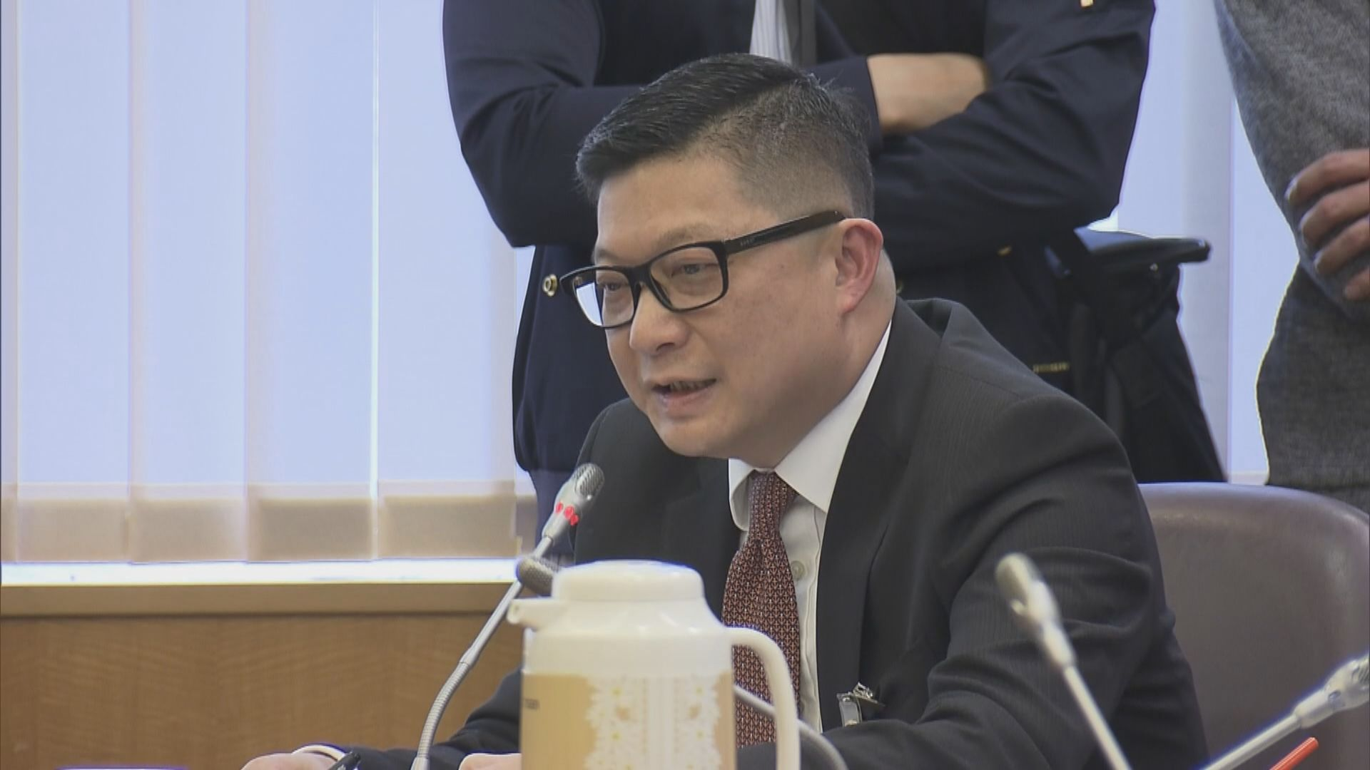 鄧炳強反修例期間接任警務處處長 帶領警隊成立國安處