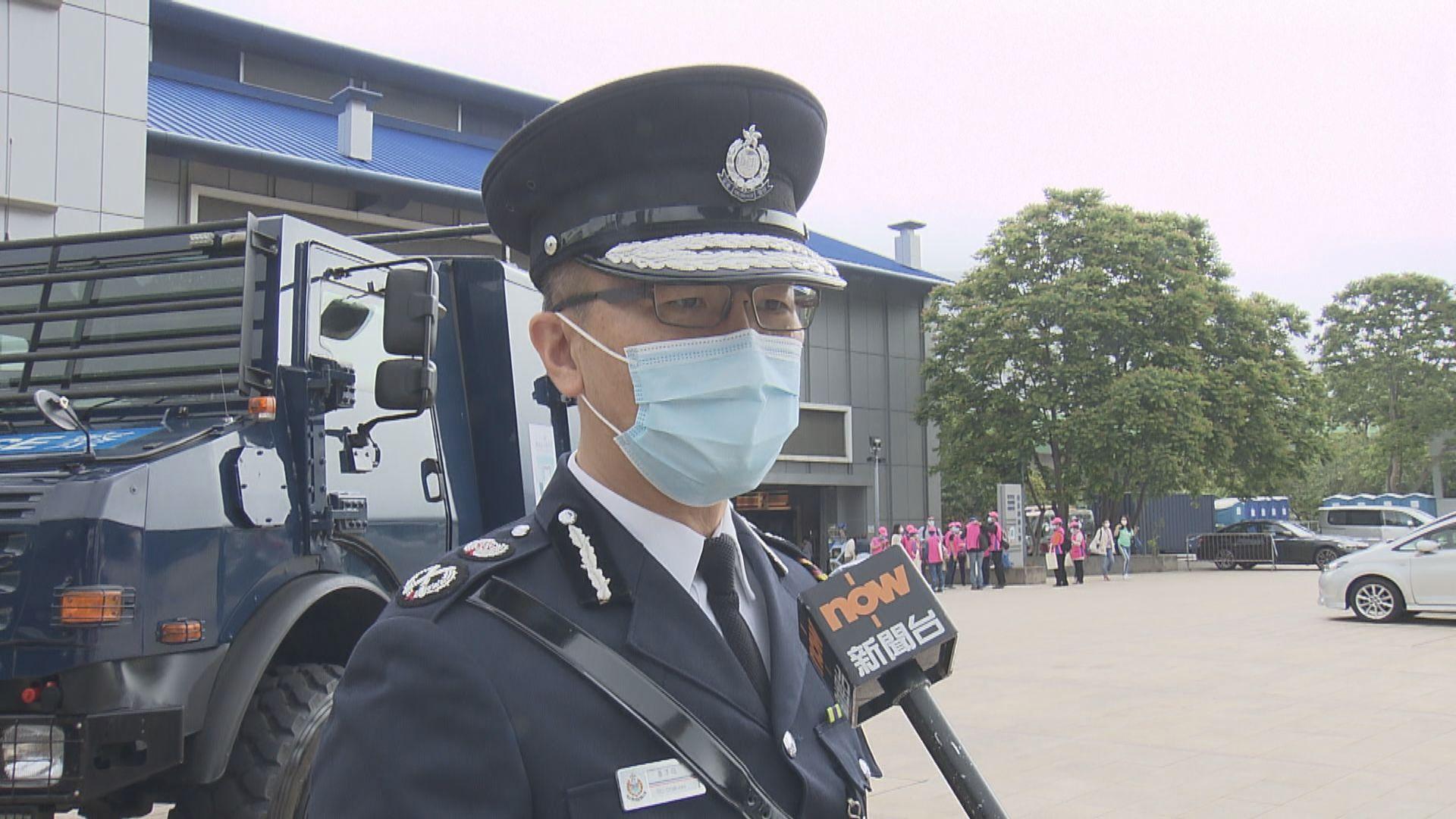蕭澤頤加入警隊33年 主要駐守前線行動單位