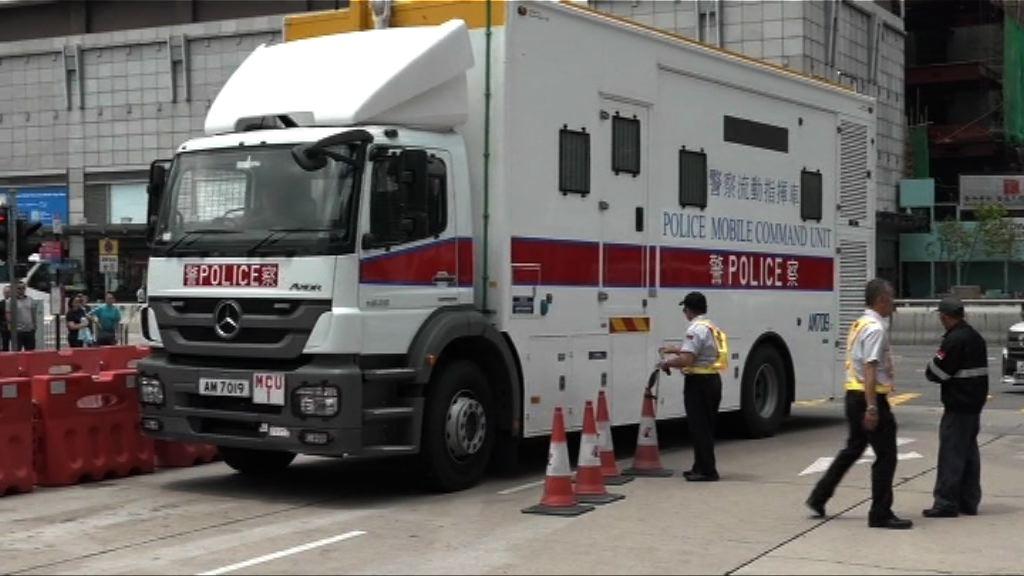 警方為菲總統杜特爾特訪港準備