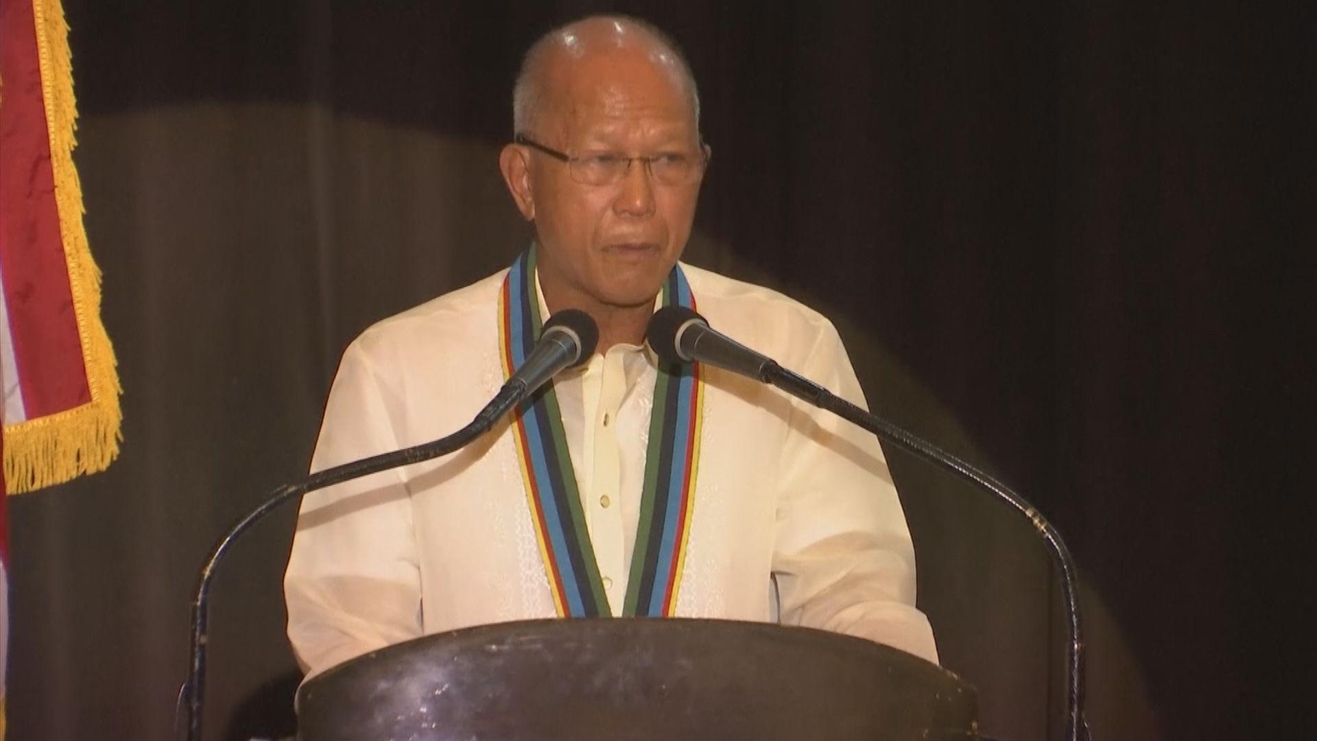 菲律賓防長促中方立即撤走漁船