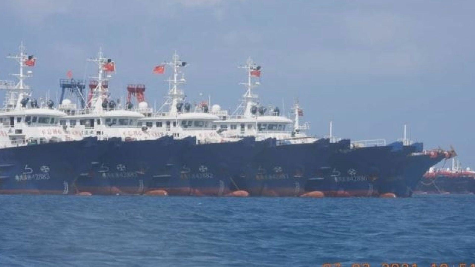 中國船隻現牛軛礁 菲律賓總統稱會保護領土