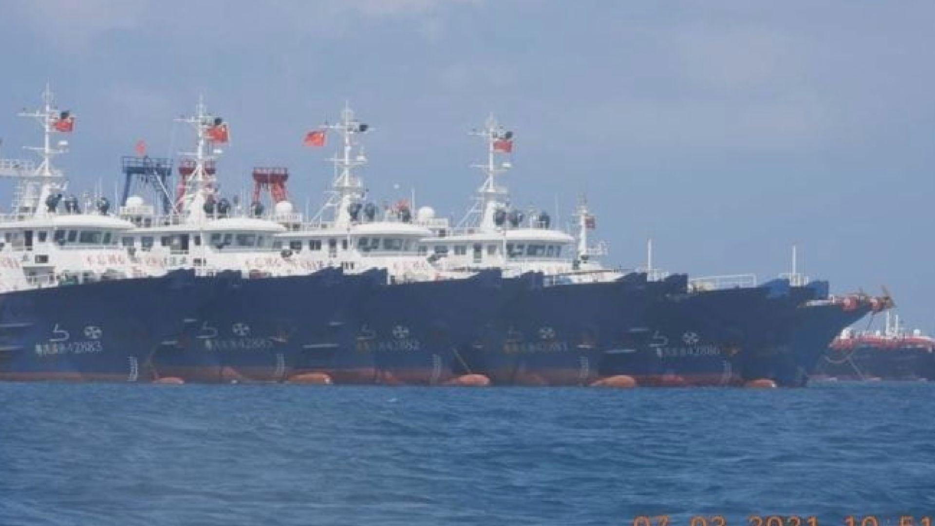 菲律賓召駐中國大使促撤走牛軛礁漁船