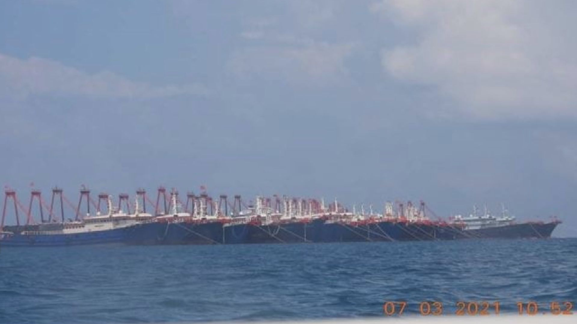菲律賓再就中國漁船在牛軛礁集結提外交抗議