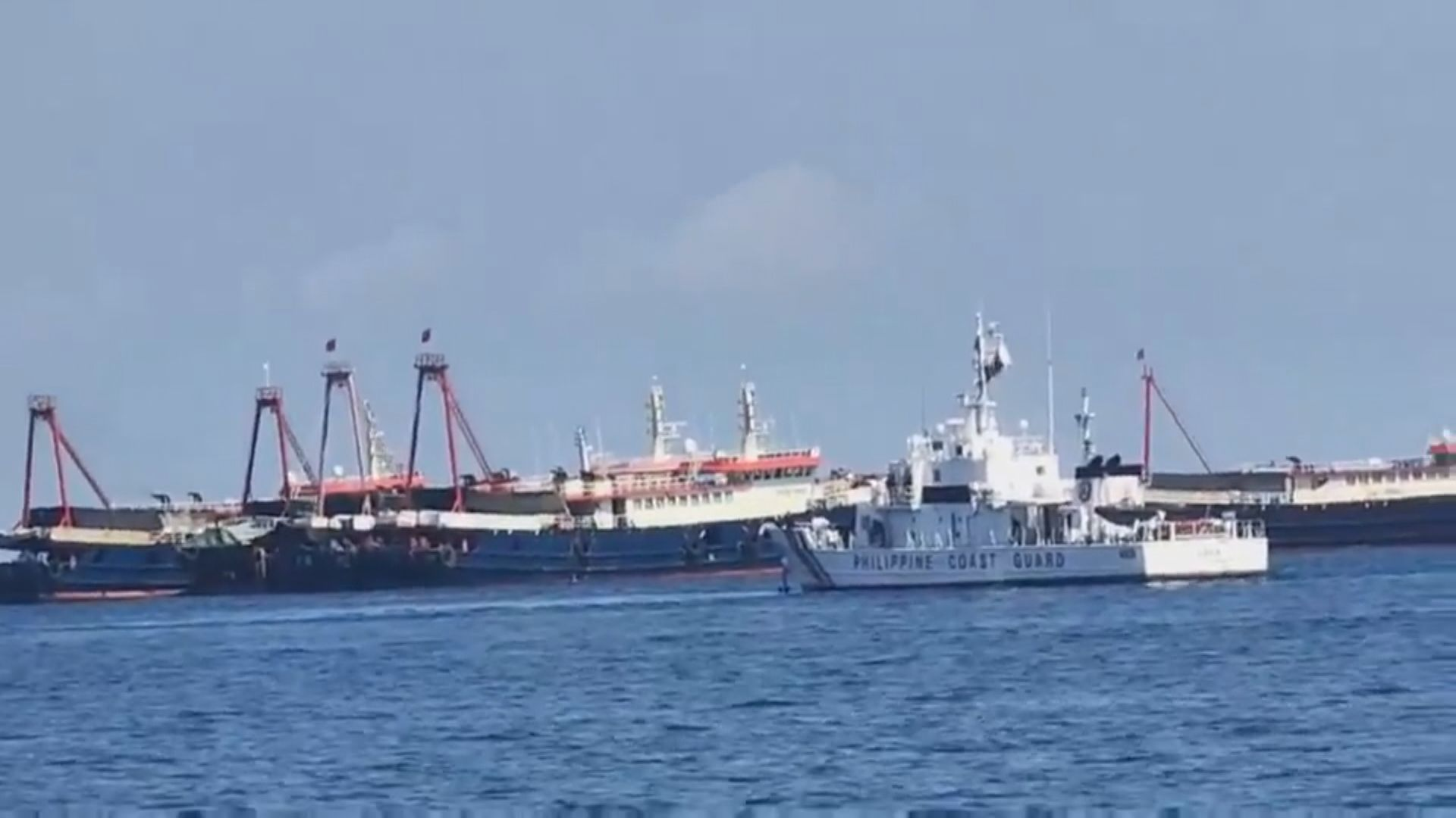 菲律賓軍方在仙賓礁發現七艘中國船隻