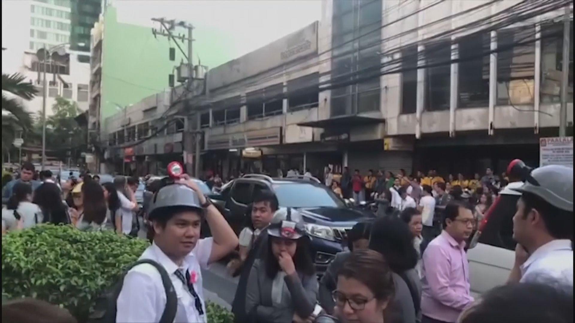 菲律賓呂宋島發生6.1級地震