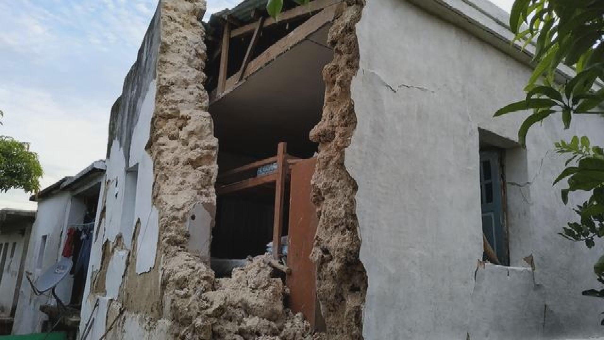 菲律賓北部5級以上地震 至少8死