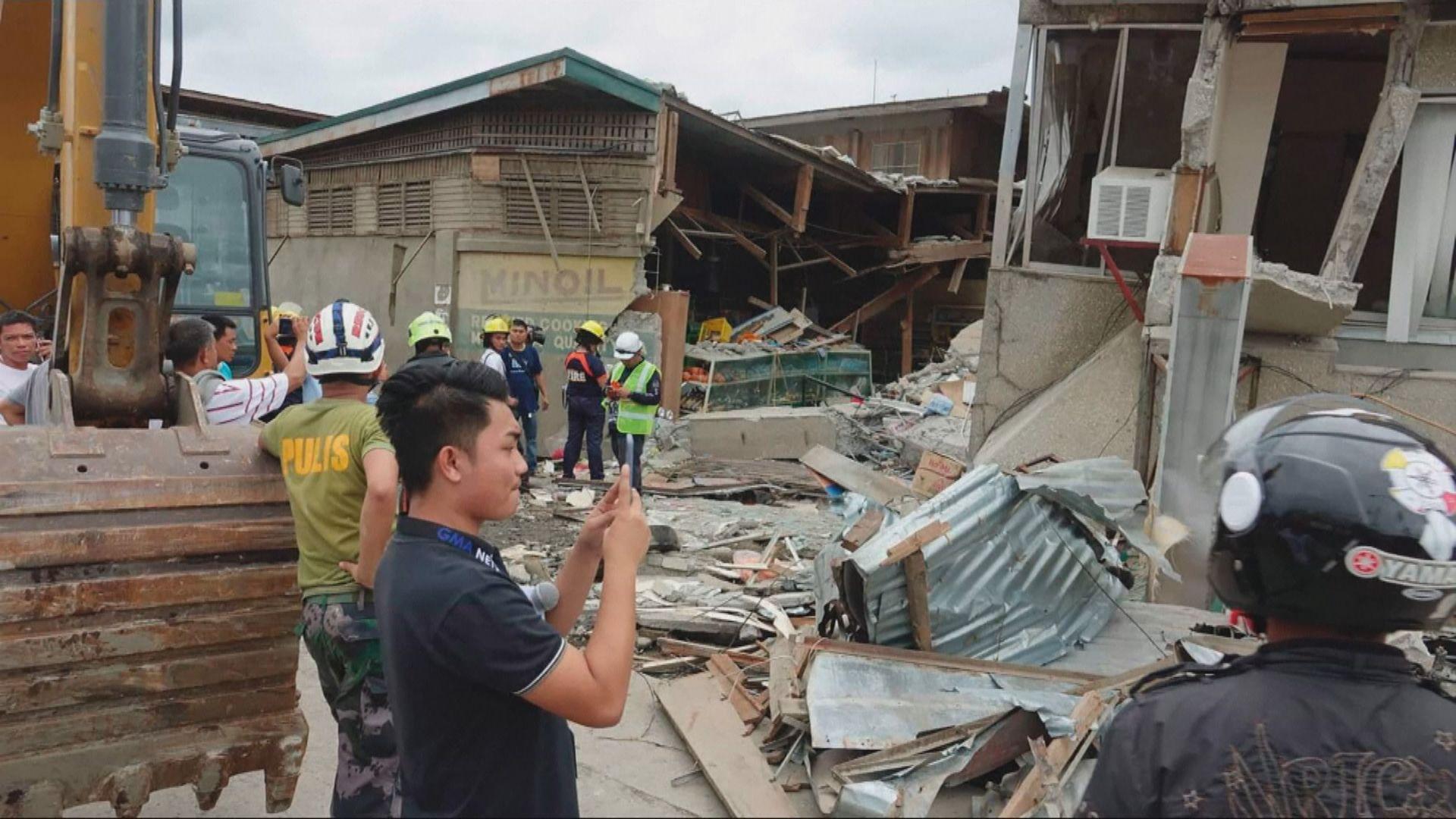 菲律賓棉蘭老島6.8級地震至少四死