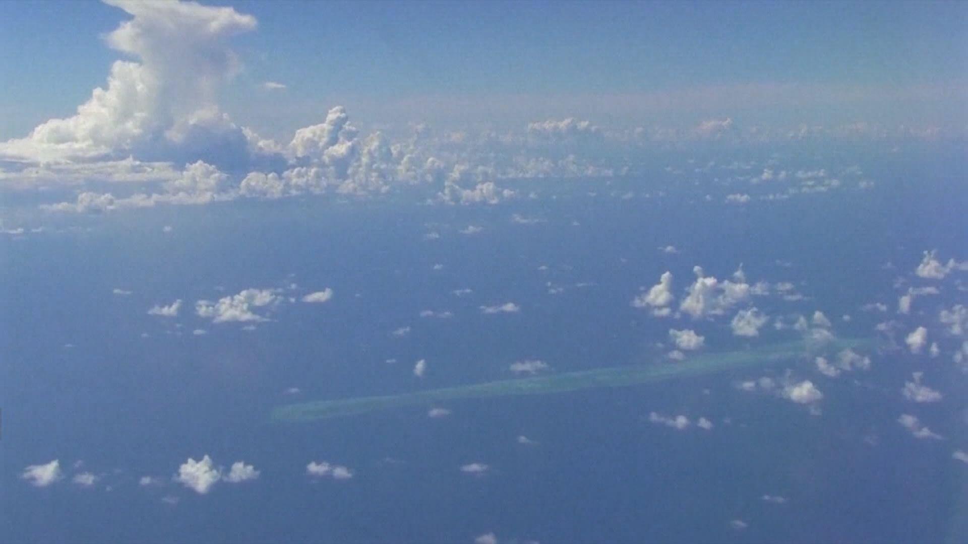 菲律賓護衛艦在南海爭議海域擱淺