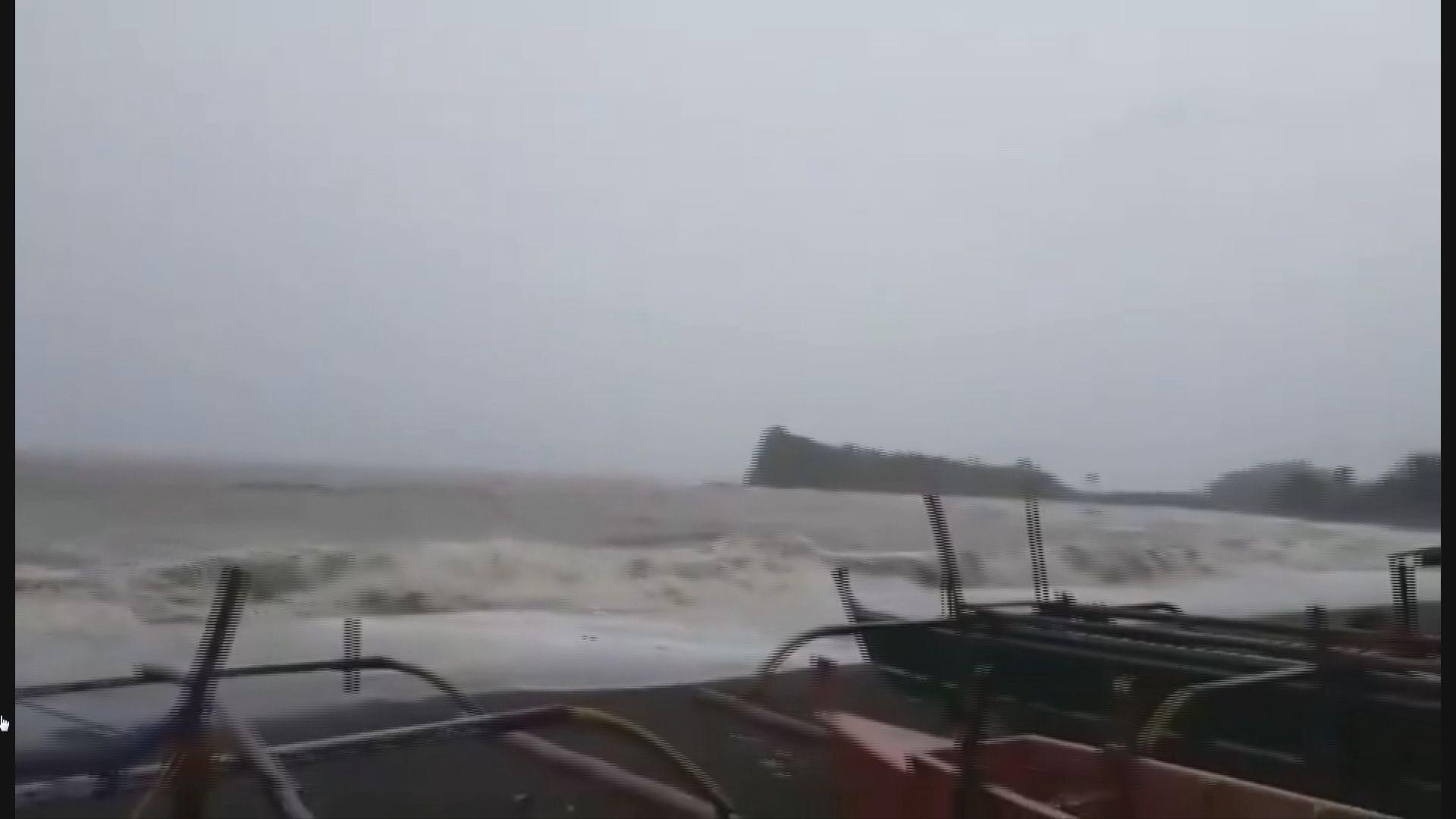山竹逼近呂宋 風暴潮或高達6米