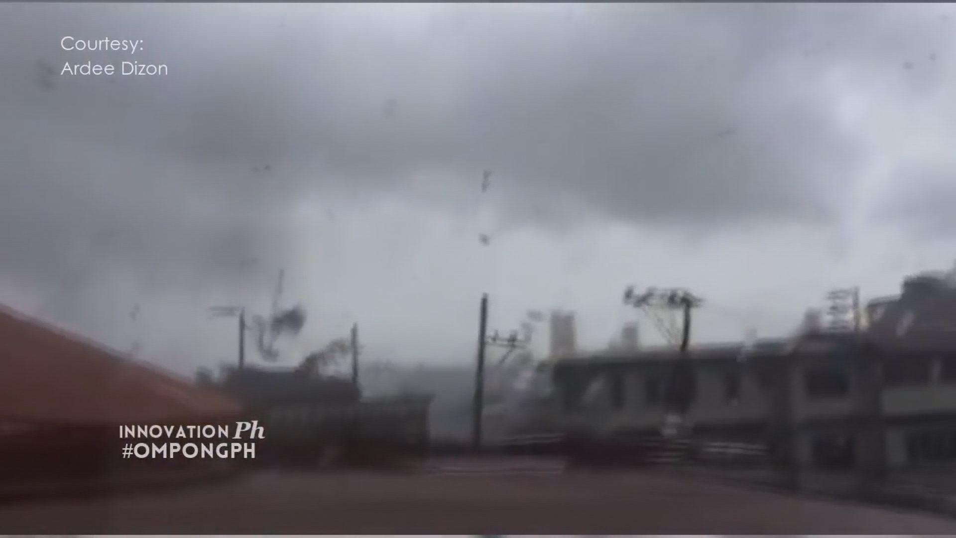 山竹登陸菲律賓 有住戶停電