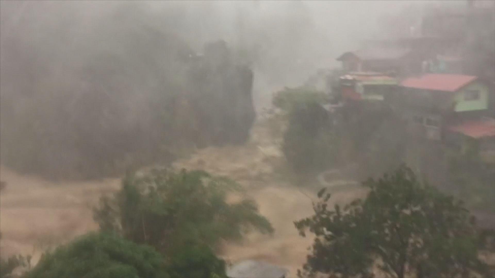 山竹肆虐菲律賓 增至16人死
