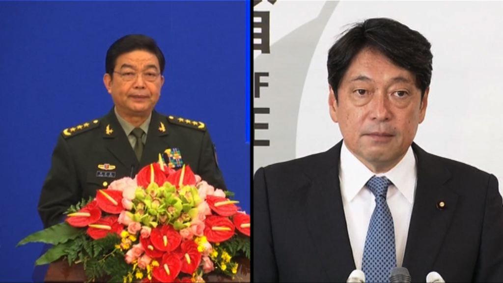 中日防長就北韓局勢短暫交談
