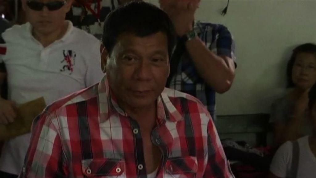 菲律賓大選 迪泰特為總統熱門人選