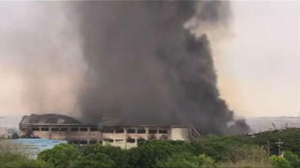菲律賓工廠大火逾百人受傷