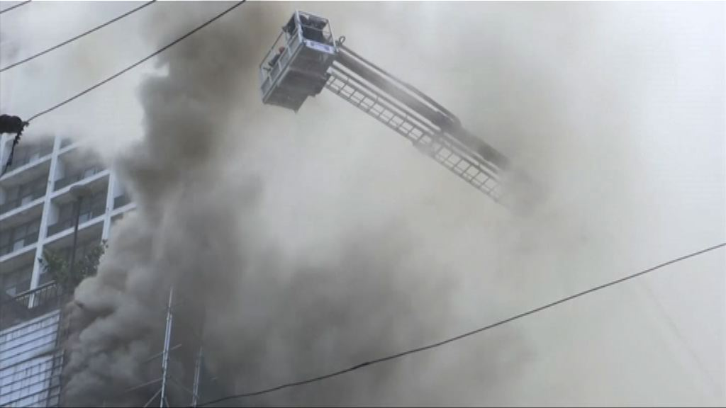 馬尼拉有酒店起火至少三死