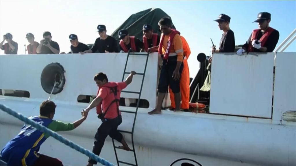 菲律賓接回兩名遇險獲救漁民