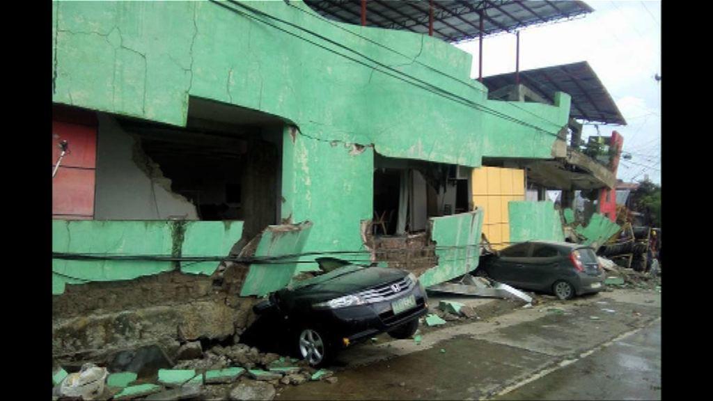 菲律賓中部6.5級地震多人死傷