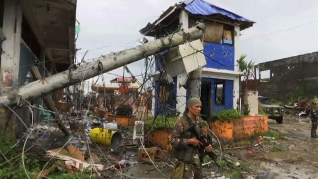 菲律賓馬拉維因戰事變廢墟 重建路漫長