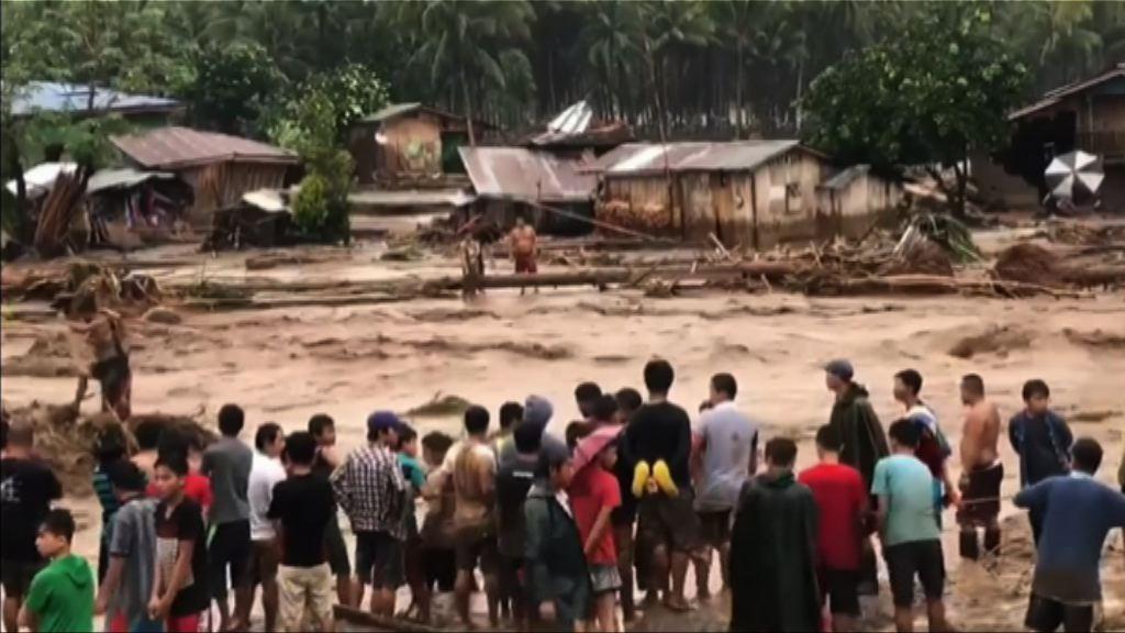 天秤吹襲棉蘭老島逾180人死