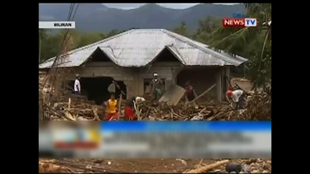 天秤吹襲棉蘭老島多處山泥傾瀉