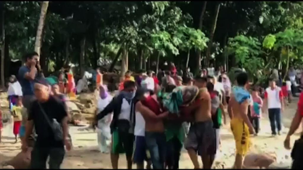 菲律賓風災逾百人死 萬人無家可歸