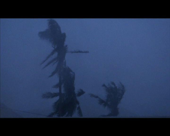 黑格比吹襲菲律賓登陸中部沿岸