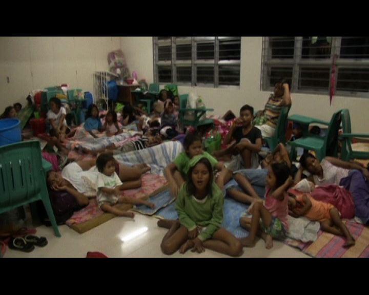 黑格比吹襲菲律賓逾百萬人疏散