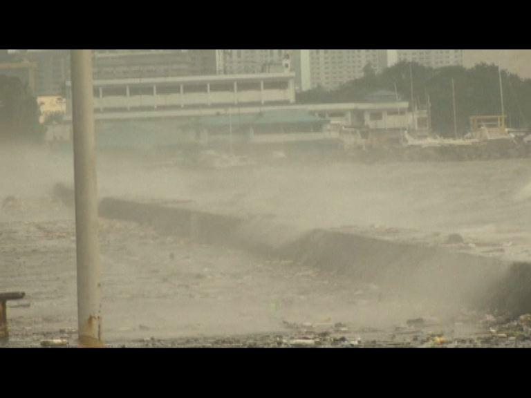 巨爵登陸菲律賓續帶來惡劣天氣