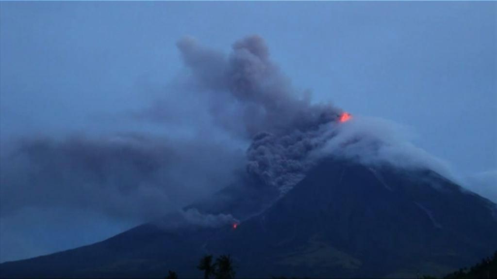 菲馬榮火山噴發 逾三萬人疏散