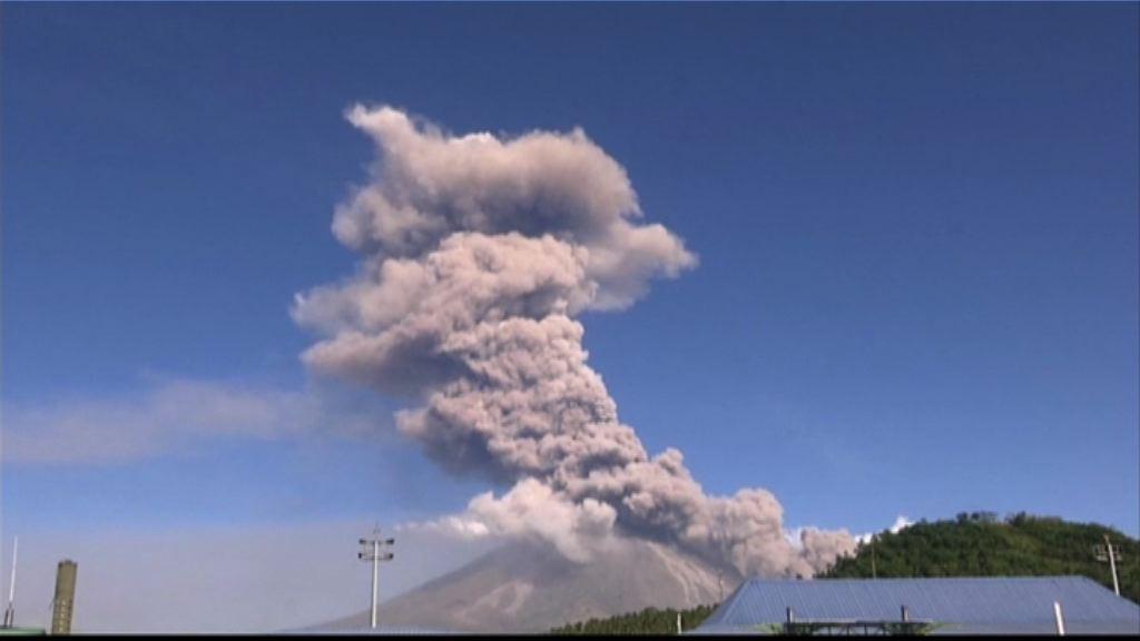 菲律賓馬榮火山噴發 當局再疏散千多人