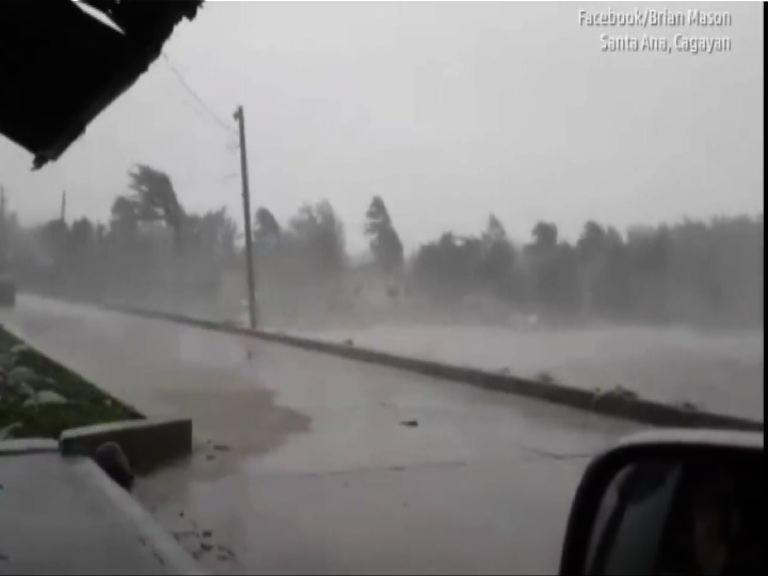 颱風天鵝吹襲菲律賓最少四死